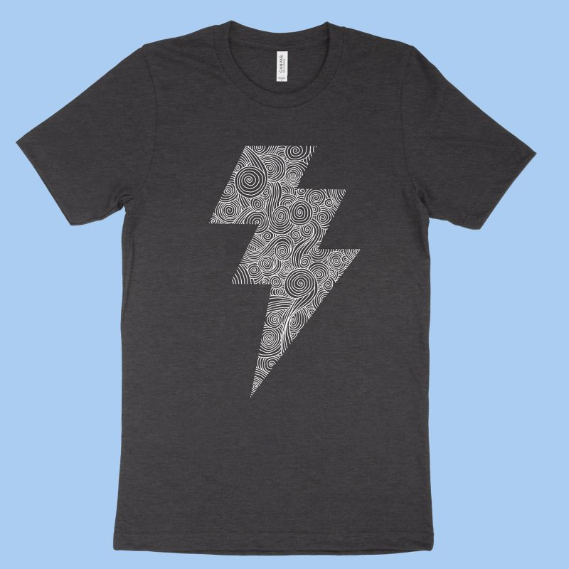 The Lightning Bolt - Dark Grey