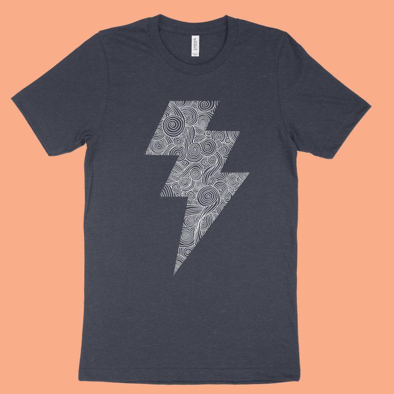 The Lightning Bolt - Navy